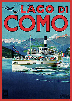 Lago Di Como Poster by Unknown Artist
