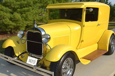 Tweety A 1928 Ford Model A Poster