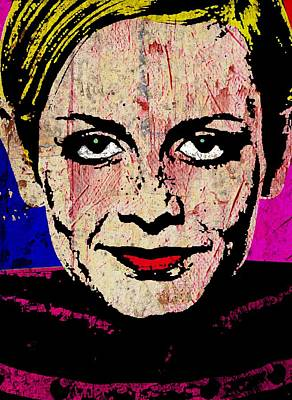 Twiggy 1 One Poster by Otis Porritt