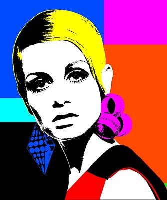 Twiggy 1 Poster by Otis Porritt