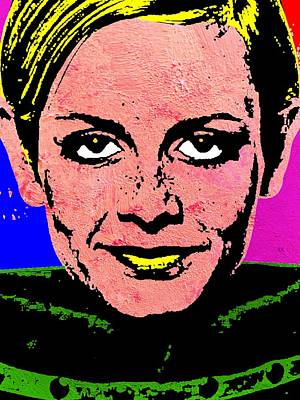 Twiggy 2 Poster by Otis Porritt