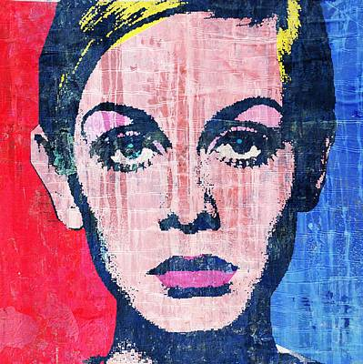 Twiggy 4 Poster by Otis Porritt