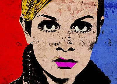 Twiggy 44 Poster by Otis Porritt