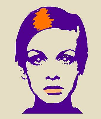 Twiggy 67 Poster by Otis Porritt