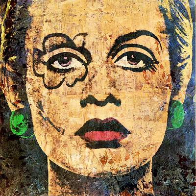 Twiggy Lawson Pop Poster by Otis Porritt