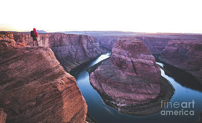 Twilight At Horseshoe Bend Poster by JR Photography