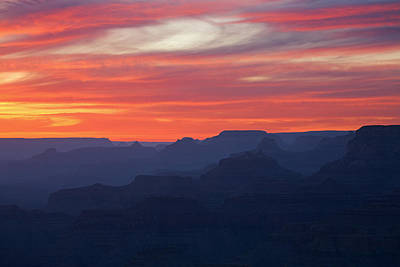 Twilight Grand Canyon Poster by Dean Pennala