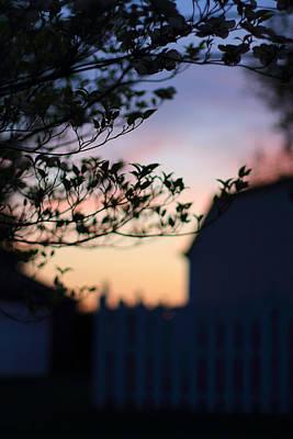 Twilight Silhouette Poster by Andrea Kappler