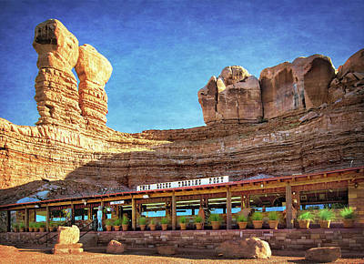 Twin Rocks Trading Post Poster