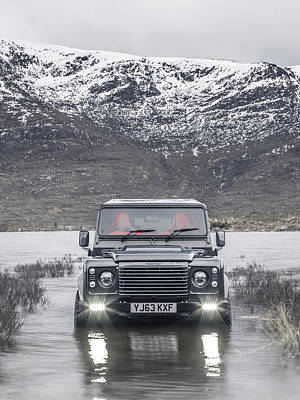 Twisted Land Rover Defender Poster