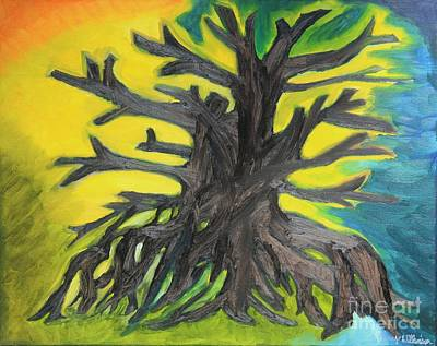 Twisted Tree Poster by Amy Wilkinson