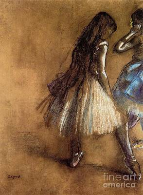 Two Dancers Poster by Degas