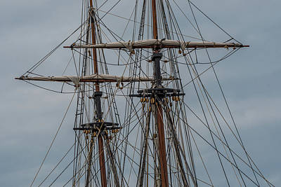 Two Masts Poster