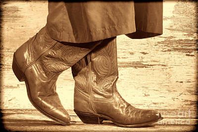 Two Step Poster by American West Legend By Olivier Le Queinec