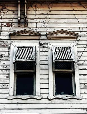 Two Windows Poster by John Rizzuto
