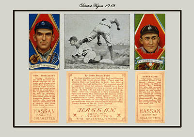 Ty Cobb Poster by Vintage Pix