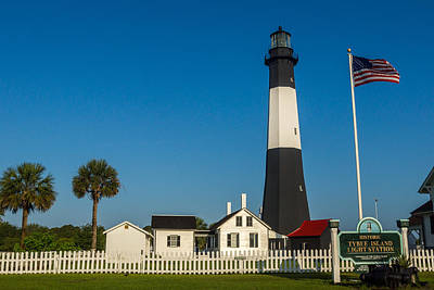 Tybee Island Lighthouse Poster by Michael Sussman