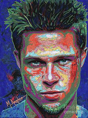 Tyler Durden Lives Poster by Maria Arango