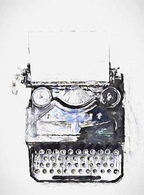 Type Poster by John K Woodruff
