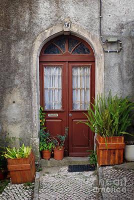 Typical Door Poster by Carlos Caetano