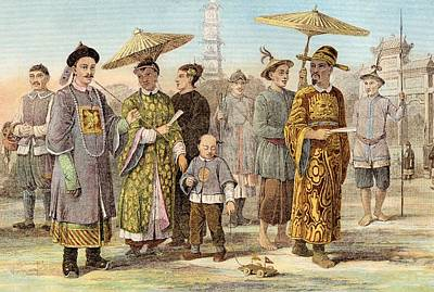 Typical Dress Of The Mongol Race - Poster