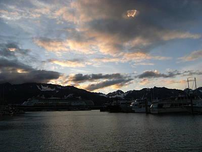 Ufo In Alaska  Poster
