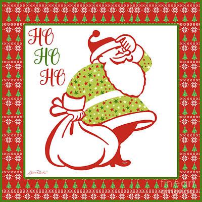 Ugly Christmas Sweater Santa-c Poster