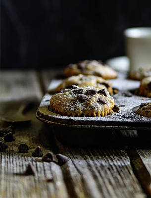 Ultimate Chocolate Chip Muffins Poster