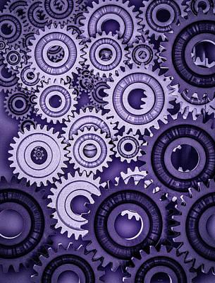 Ultraviolet Gears Poster