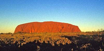 Poster featuring the photograph Uluru by Gary Wonning