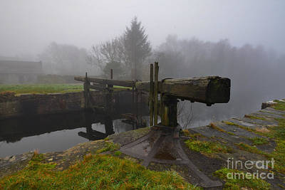 Ulverston Canal Poster by Nichola Denny