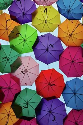 Umbrella Sky II Poster