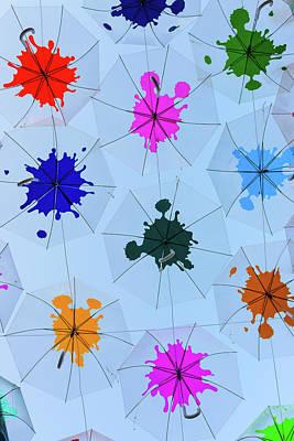 Umbrella Sky IIi Poster