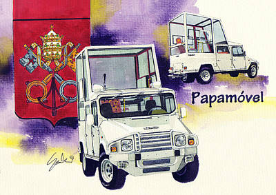 Umm Papampbile Poster by Yoshiharu Miyakawa