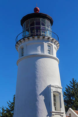 Umpqua River Lighthouse Oregon 2 Poster by Garry Gay