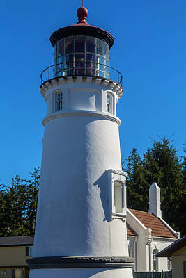 Umpqua River Lighthouse Oregon Poster by Garry Gay