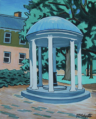 Unc Old Well Poster