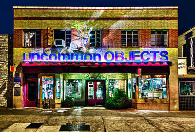 Uncommon Objects At Night Poster