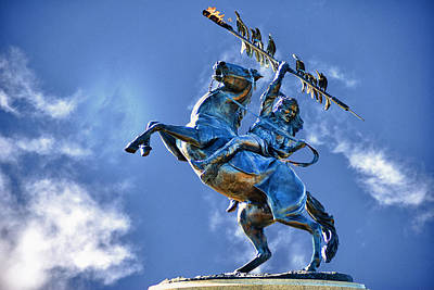 Unconquered Chief Osceola And Renegade Poster by Frank Feliciano