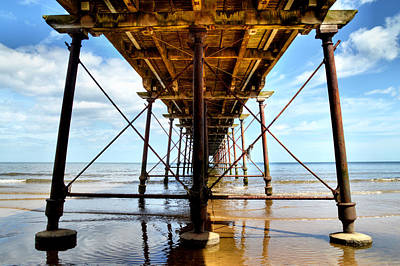 Under The Boardwalk Poster by Sarah Couzens
