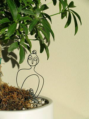 Under The Bodhi Tree Poster by Live Wire Spirit