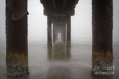 Under The Pier Poster by Dennis Hedberg