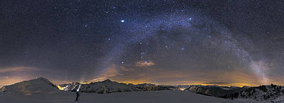 Under The Starbow Poster by Dr. Nicholas Roemmelt