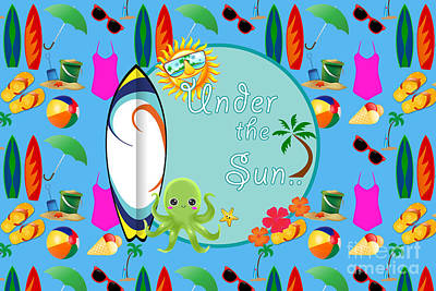 Under The Sun Poster by Naviblue