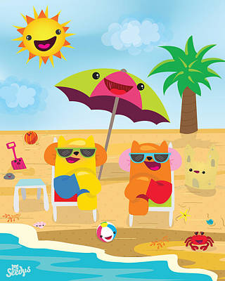 Under The Sun Poster by Seedys World