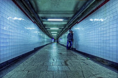Underground Inhabitants Poster by Evelina Kremsdorf