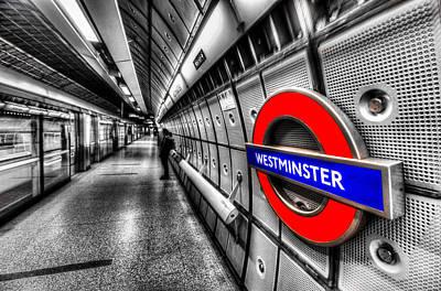 Underground London Poster