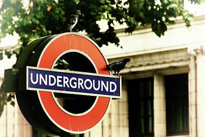 Poster featuring the photograph Underground by Rasma Bertz