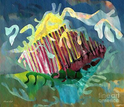 Undersea Still Life Poster by Sarah Loft