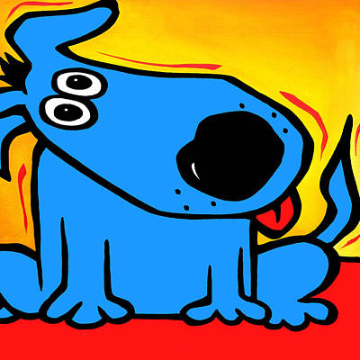 Understood - Abstract Dog Pop Art By Fidostudio Poster by Tom Fedro - Fidostudio